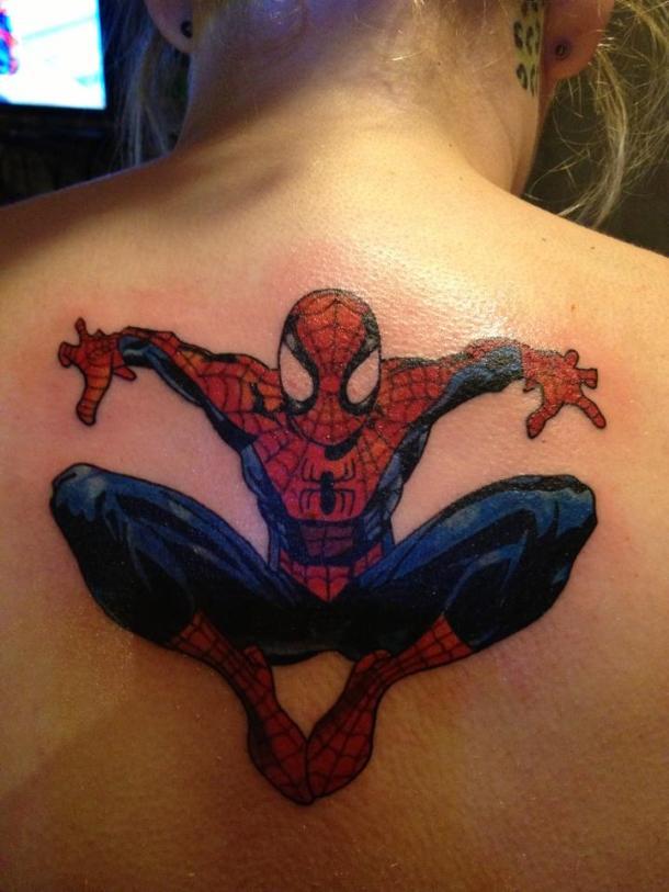 spiderman-tattoo