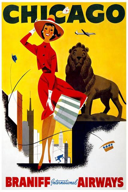 Poster-vintage-free-Braniff-Airways-International