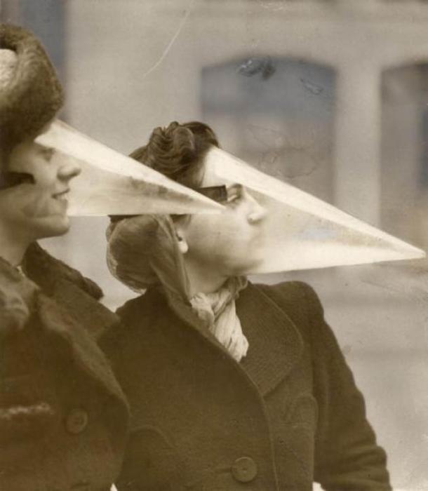 Maschera protettiva per tempeste di neve – 1939