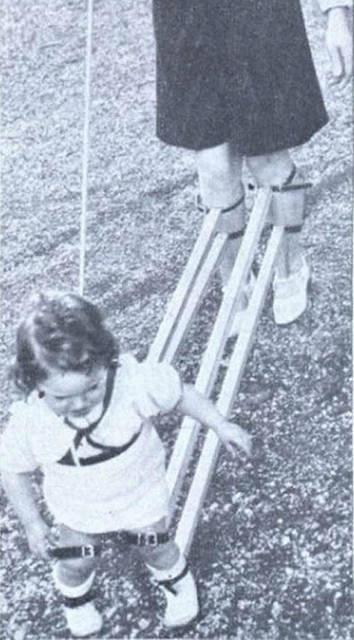 Strumento di tortura per insegnare ai bambini a camminare