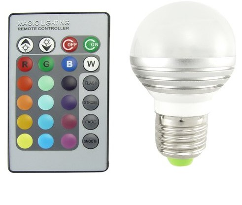 Lampadina-LED-con-telecomando