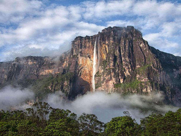 Angels Falls, Canaima National Park, Venezuela(