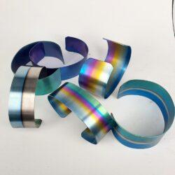 E:Titanium Armbanden
