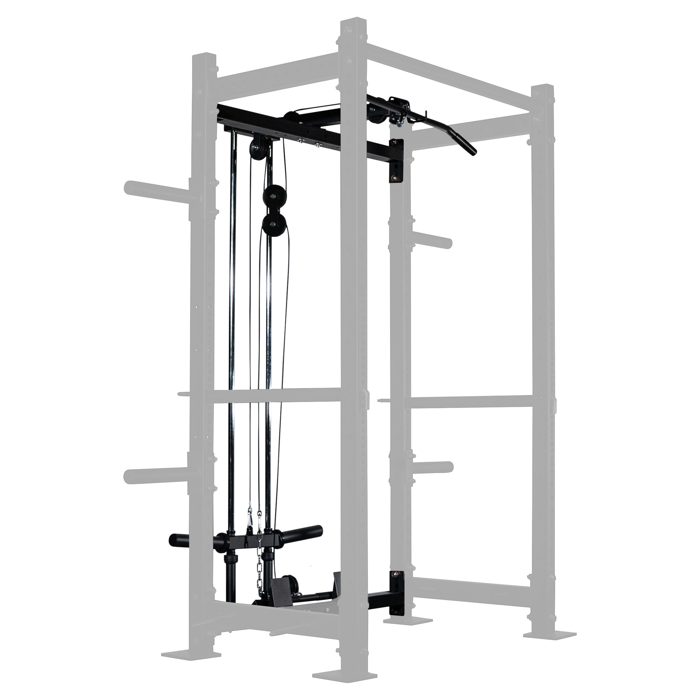lat tower short height rack attachment x 2 x 3 and t 3 series power rack compatible