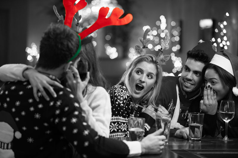 revealed nearly 1 in 5 cheat at the office christmas party - The Office Christmas