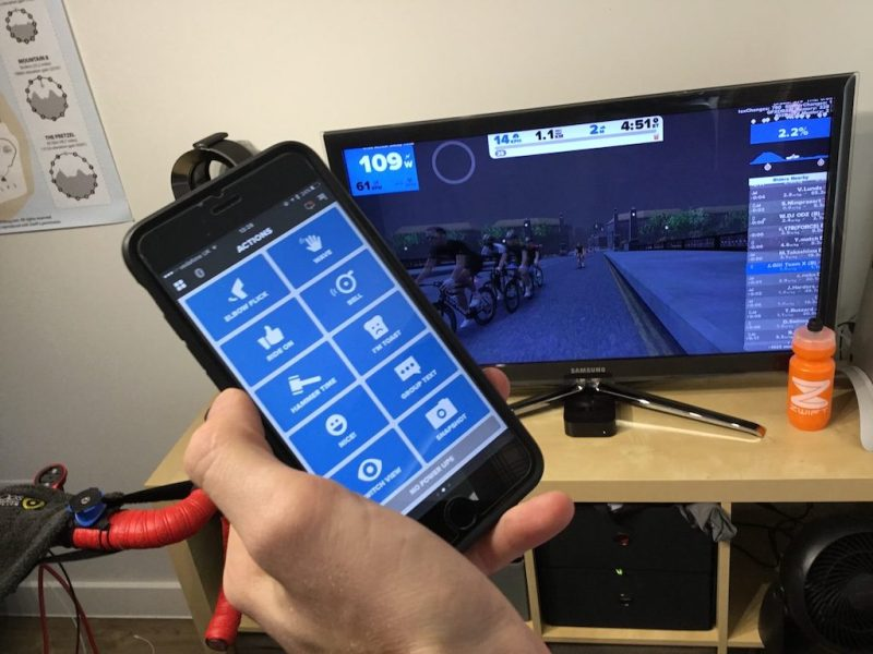TitaniumGeek IMG_0487-1024x768 Zwift Apple TV - Zwift Completes iOS rollout - ZwiftGearTest ZwiftGearTest Zwift iOS Zwift ios games cycling