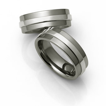 Mens Titanium Wedding Bands Strong And Stylish