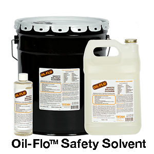 Oil-Flo Safety Solvent in all sizes