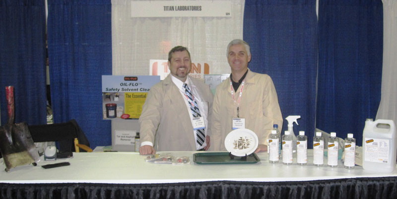 Alan Noah and Jamie Smith at the National Pavement Expo in Nashville