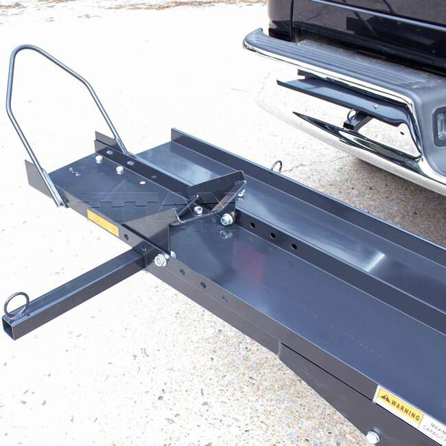 dirt bike and motorcycle carrier sports bike rack for truck hitch