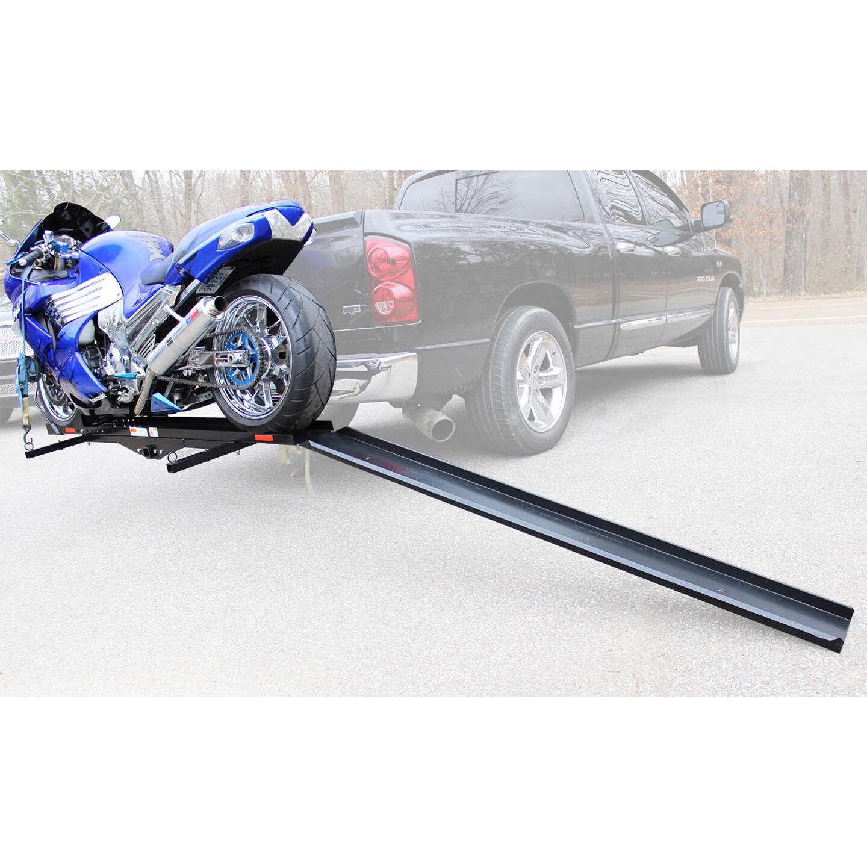 dirt bike motorcycle truck hitch
