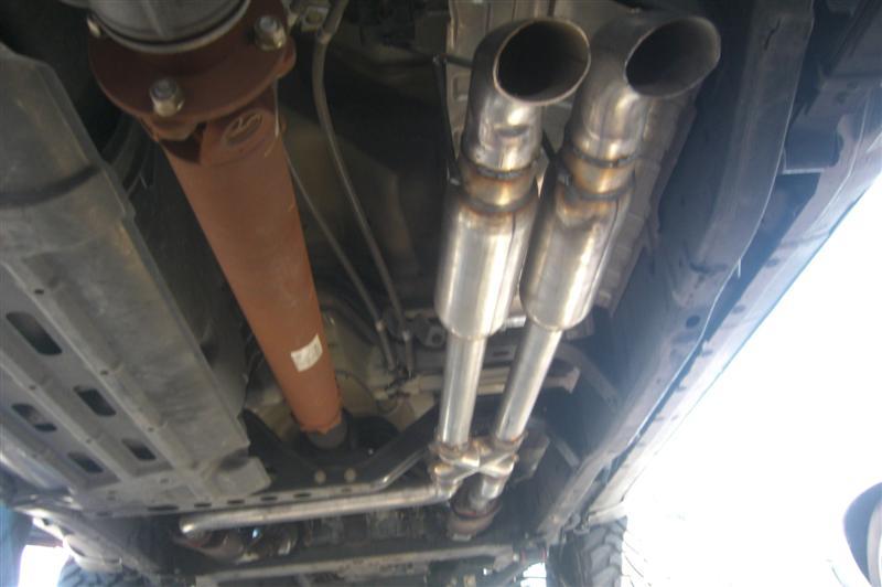 sale custom true dual bullet exhaust