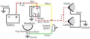 Wiring Diagram for Illuminated Rocker Switch  Nissan
