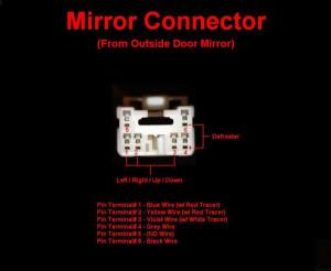Wiring diagram for powerheated mirrors  Nissan Titan Forum
