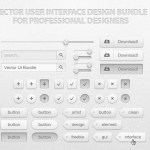 Free Vector UI Design Kit
