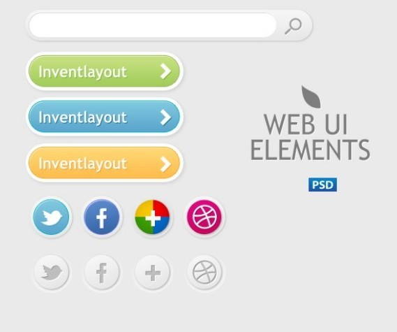 Simple Web UI Elements