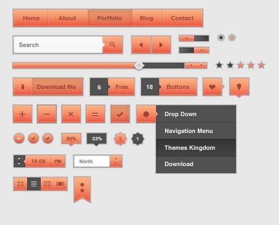 Themes Kingdom UI Kit