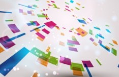 Abstract Background with Color Blocks