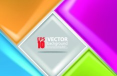 Abstract Vector background with Color Blocks