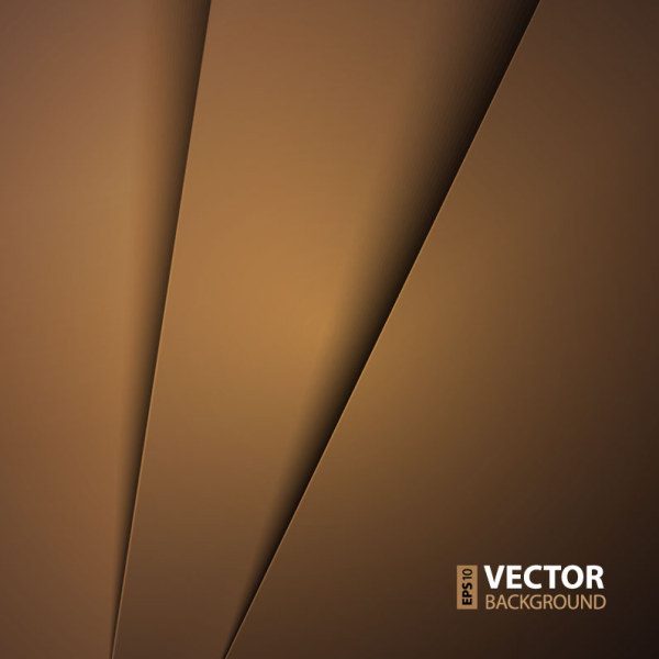 Brown Paper-Like Vector Background