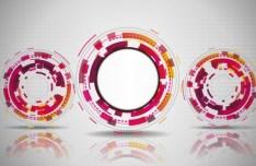 Circle Banners Vector