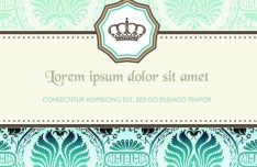 Classic European Pattern Background 04