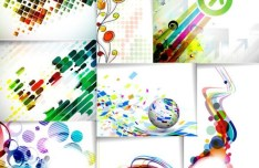 Collection Of Magnificent Vector Abstract