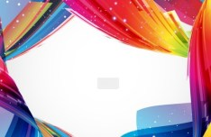 Colorful Abstract Vector Background 01