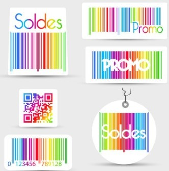 Colorful Barcode 01