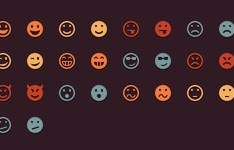Colorful Emotion Icons