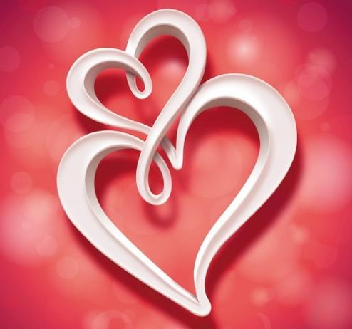 Free creative heart shaped greeting card titanui creative heart shaped greeting card m4hsunfo