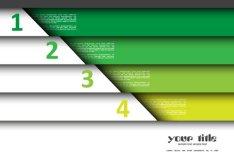 Creative List Banner Vector 04