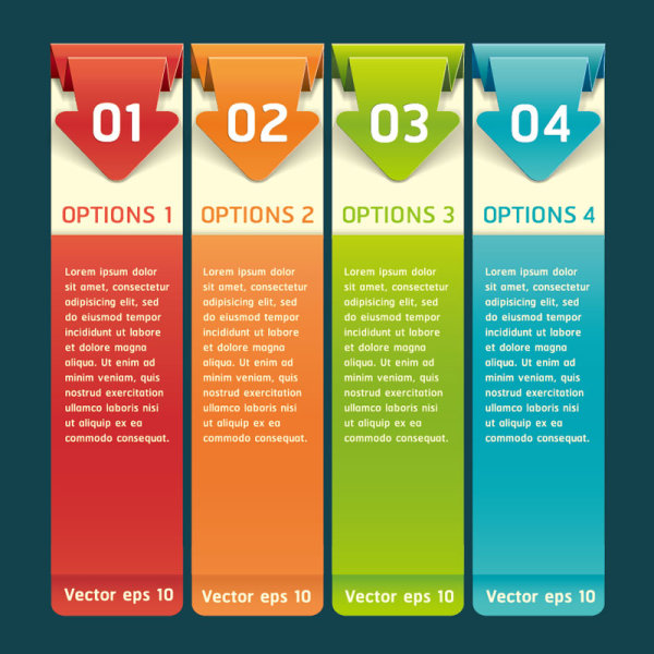 Creative List Banner Vector 17