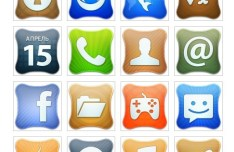 Creative Mobile Desktop Icons