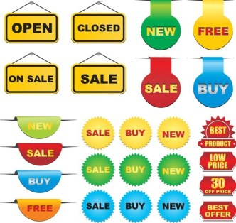 Discounts and Sales Labels 01