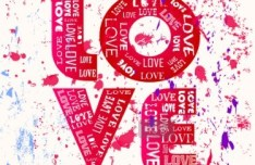 Doodle Style I Love You Illustration Vector 01