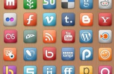 Elegant Social Media Icons Pack