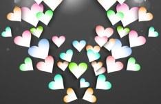 Elegant Valentine's Day Card Template Vector 02