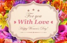Elegant Valentine's Day Card Template Vector 12