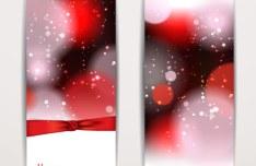 Exquisite Vertical Valentine's Day Banner Vector 01