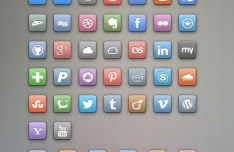 Free Colored Social Icons
