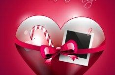 Happy Valentine's Day Vector Cover 01