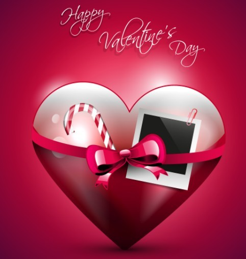Happy Valentine's Day Vector Cover 01