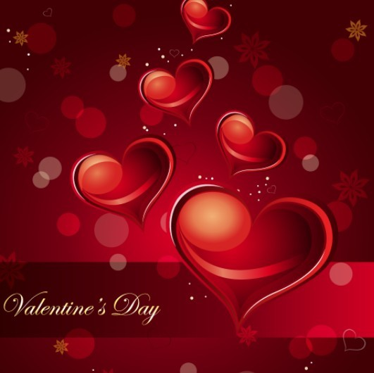 Happy Valentine's Day Vector Cover 02