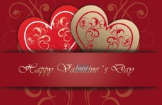 Happy Valentine's Day Vector Cover 03