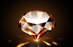 High Quality Shining Diamond Vector 01