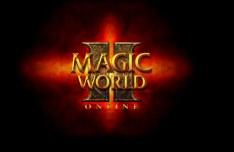 Magic World II Online Logo Design Layered PSD