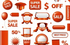 Mall PromotionalVector Design Material