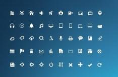 Mini Glyphs Icons
