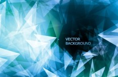 Modern Abstract Triangles Background Vector 03